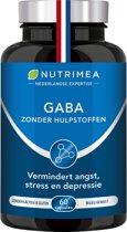 GABA betere slaap - minder stress - 750mg - NUTRIMEA 60 capsules