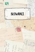 Slowakei: Liniertes Reisetagebuch Notizbuch oder Reise Notizheft liniert - Reisen Journal f�r M�nner und Frauen mit Linien
