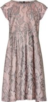 Creamie - jurk - model Diona - roze grijs