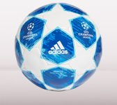 adidas Finale18 Cap Voetbal Heren - White/Football Blue/Bright Cyan