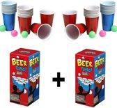 Beer Pong 48 Cups 6 Balls