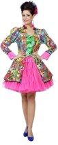 Grappig & Fout Kostuum   Vrolijke Kubisme Jas Picasso Vrouw   Maat 46   Carnaval kostuum   Verkleedkleding