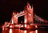 Fotobehang London Tower Bridge   L - 152.5cm x 104cm   130g/m2 Vlies