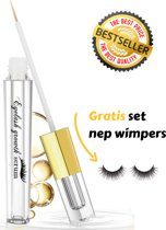 Cosca TM Wimperserum + Set nep wimpers - Wimperserum groei - Wimpers Krullen, Langer en Voller - Wimperlifting - Pro lash wimperserum - Serum wimpers - Inclusief e-book