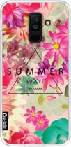 Casetastic Softcover Samsung Galaxy A6 Plus (2018) - Summer Love Flowers