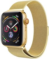 Milanese Loop Armband Voor Apple Watch Series 1/2/3/4 38/40 MM Iwatch Milanees Horloge Band - Goud Kleurig
