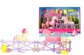 Toi-toys Speelset Kailey's Paardenstal 4-delig Roze