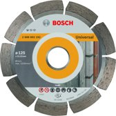Bosch - Diamantdoorslijpschijf Standard for Universal 125 x 22,23 x 1,6 x 10 mm