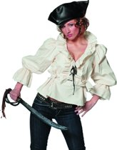 Piratenblouse Ms Driemast Vrouw   Maat 46   Carnaval kostuum   Verkleedkleding