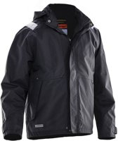 Jobman 1270 Shell Jacket Zwart/Wit maat XXL