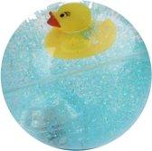 Toi-toys Stuiterbal Glitter Met Licht Blauw 7 Cm
