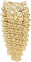 Remy Human Hair extensions wavy 22 - blond 613#