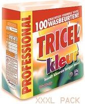 TRICEL Kleur Waspoeder  7.5 kg 100 wasbeurten.