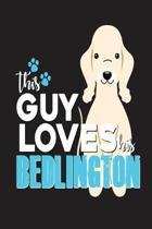 This Guy Loves His Bedlington
