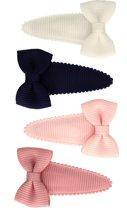 Setje babyspeldjes met strik  basics | Wit, Roze, Blauw | Baby