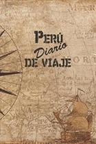 Per� Diario De Viaje: 6x9 Diario de viaje I Libreta para listas de tareas I Regalo perfecto para tus vacaciones en Per�