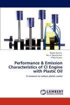 Performance & Emission Characteristics of CI Engine with Plastic Oil