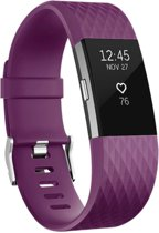 Special Edition Bandje Paars voor FitBit Charge 2 – Small