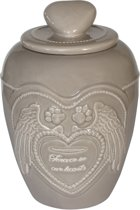 Happy-House Memory Collection Urn 13.5x13.5x18.5 cm 1 l Beige Small