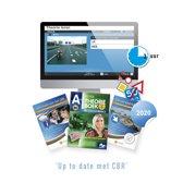 Motor Theorieboek Nederland 2019 - Motor Theorie Leren - Motor Theorie Boek Rijbewijs A met 3 Uur Online Examentraining + CBR Informatie en Verkeersborden