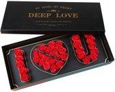 Valentijn Special! I Love You Flowerbox Met Longli
