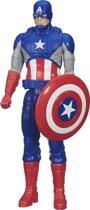 Afbeelding van Marvel Avengers Titan Hero actiefiguur - Captain America - 30 cm speelgoed