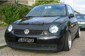 AutoStyle Motorkapsteenslaghoes Volkswagen Lupo 2000-2003 zwart