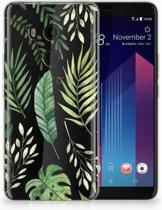 HTC U11 Plus TPU-siliconen Hoesje Leaves