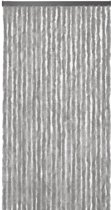 Vliegengordijn Kattenstaart grijs 100x240 cm