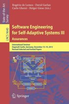 Software Engineering for Self-Adaptive Systems III. Assurances