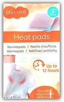 Lifecare Warmtepads - 2 stuks | Heat pads