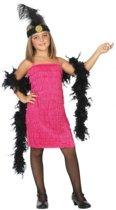 Flapper/Charleston 20s  verkleedset / jurk voor meisjes - carnavalskleding - voordelig geprijsd 104 (3-4 jaar)