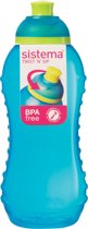 Sistema Lunch Drinkfles Squeeze - 330 ml - Blauw