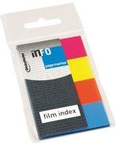Info Page Markers film index 20x50mm, 4 kleuren