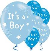 It's A Boy ballonnen - 27 cm (6 stuks)