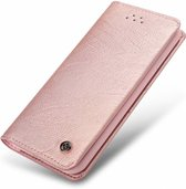 Xundd - iPhone 8 (4.7 inch) ultra Soft Portemonnee hoesje / book case met pasjes Rose Goud