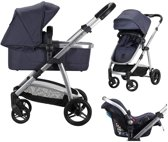 Born Lucky Elegance - Kinderwagen - Navy