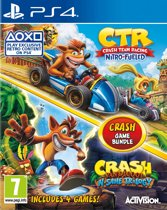 Crash Team Racing Nitro-Fueled + Crash Bandicoot N.Sane Trilogy (PS4)