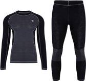 Dare2b -Advanced  Set - Ondergoed - Mannen - MAAT XXL - Zwart