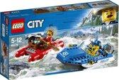 LEGO City Bergpolitie Wilde Rivierontsnapping - 60176