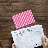 iPad Mini 4 Uniek Tablethoesje Waves Pink