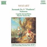 Mozart: Serenade no 9, Notturno