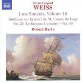 Weiss: Lute Sonatas Vol.10