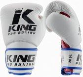 King Bokshandschoenen KPB/BG 1 Wit / Rood / Blauw-14 oz