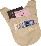 Travelsafe - Holsterwallet - Beige