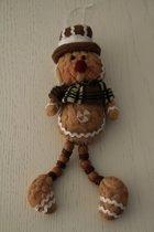 Hanger gingerbread poppetje