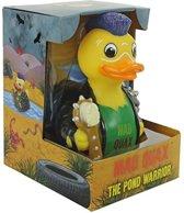 CelebriDucks Mad Quax The Pond Warrior UIT Mad Max serie  RUBBER DUCK:  11cm  bekendste badeendjes merk uit de USA