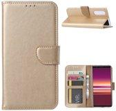 FONU Bookcase Sony Xperia 5 - Goud