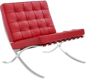 Barcelona expo Chair Rood