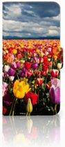 Exclusief Hoesje voor de Huawei Nova Plus met Tulpen